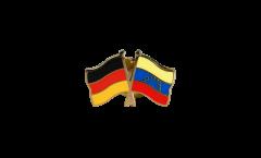 Pin's épinglette de l'amitié Allemagne - Venezuela 8 Etoiles - 22 mm