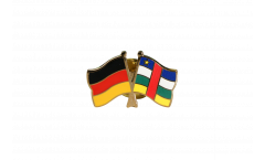 Pin's épinglette de l'amitié Allemagne - République Centralafricaine - 22 mm