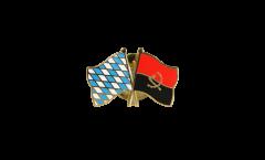 Pin's épinglette de l'amitié Bavière - Angola - 22 mm