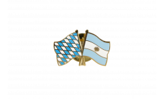 Pin's épinglette de l'amitié Bavière - Argentine - 22 mm
