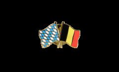 Pin's épinglette de l'amitié Bavière - Belgique - 22 mm