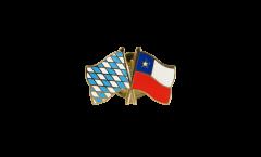 Pin's épinglette de l'amitié Bavière - Chili - 22 mm