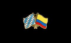 Pin's épinglette de l'amitié Bavière - Colombie - 22 mm