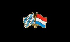 Pin's épinglette de l'amitié Bavière - Luxembourg - 22 mm