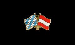 Pin's épinglette de l'amitié Bavière - Autriche - 22 mm