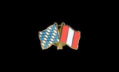 Pin's épinglette de l'amitié Bavière - Pérou - 22 mm