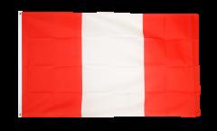 Drapeau Pérou sans Blason - 90 x 150 cm