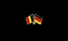 Pin's épinglette de l'amitié Belgique - Allemagne - 22 mm