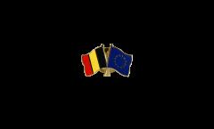 Pin's épinglette de l'amitié Belgique - Europe - 22 mm