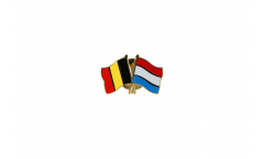 Pin's épinglette de l'amitié Belgique - Luxembourg - 22 mm