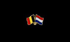 Pin's épinglette de l'amitié Belgique - Pays-Bas - 22 mm
