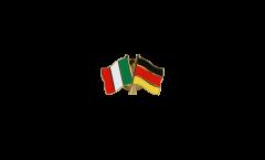 Pin's épinglette de l'amitié Italie - Allemagne - 22 mm