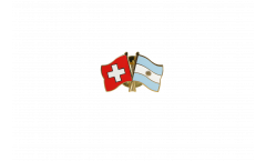 Pin's épinglette de l'amitié Suisse - Argentine - 22 mm