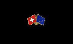 Pin's épinglette de l'amitié Suisse - Europe - 22 mm