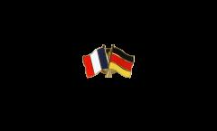 Pin's épinglette de l'amitié France - Allemagne - 22 mm