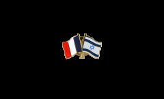 Pin's épinglette de l'amitié France - Israel - 22 mm