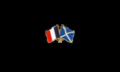 Pin's épinglette de l'amitié France - Ecosse - 22 mm