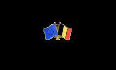 Pin's épinglette de l'amitié Europe - Belgique - 22 mm