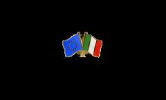 Pin's épinglette de l'amitié Europe - Italie - 22 mm