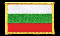 Écusson brodé Bulgarie - 8 x 6 cm