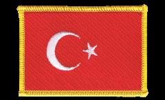 Écusson brodé Turquie - 8 x 6 cm