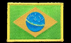 Écusson brodé Brésil - 8 x 6 cm