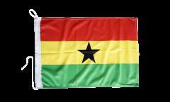 Drapeau pour bateau Ghana - 30 x 40 cm