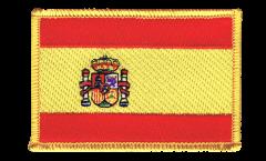 Écusson brodé Espagne - 8 x 6 cm
