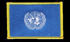 Écusson brodé ONU - 8 x 6 cm
