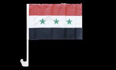 Drapeau de voiture Irak sans écrit 1963-1991 - 30 x 40 cm