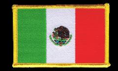 Écusson brodé Mexique - 8 x 6 cm