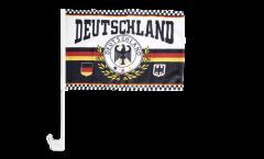 Drapeau de voiture supporteur Allemagne 7 - 30 x 40 cm