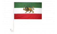 Drapeau de voiture Iran ancien - 30 x 40 cm