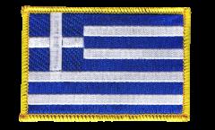 Écusson brodé Grèce - 8 x 6 cm