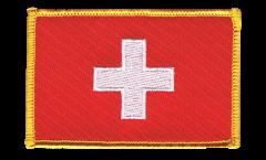 Écusson brodé Suisse - 8 x 6 cm