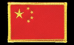Écusson brodé Chine - 8 x 6 cm