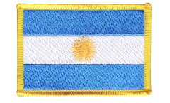 Écusson brodé Argentine - 8 x 6 cm