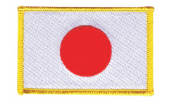Écusson brodé Japon - 8 x 6 cm