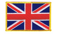 Écusson brodé Royaume-Uni - 8 x 6 cm