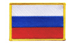 Écusson brodé Russie - 8 x 6 cm