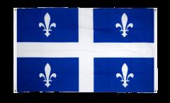 Drapeau de balcon Canada Quebec - 90 x 150 cm
