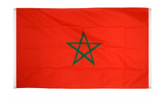 Drapeau de balcon Maroc - 90 x 150 cm