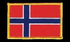 Écusson brodé Norvège - 8 x 6 cm