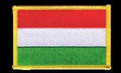 Écusson brodé Hongrie - 8 x 6 cm