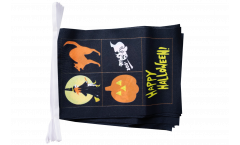 Guirlande Happy Halloween 4 - 15 x 22 cm