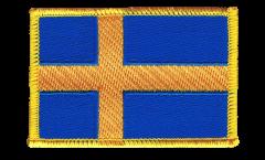 Écusson brodé Suède - 8 x 6 cm