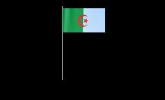 Drapeau en papier Algerie - 12 x 24 cm