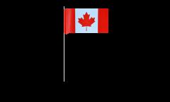 Drapeau en papier Canada - 12 x 24 cm