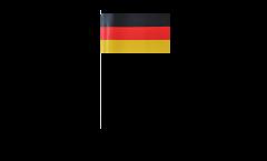 Drapeau en papier Allemagne - 12 x 24 cm
