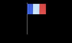 Drapeau en papier France - 12 x 24 cm